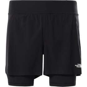 The North Face Circadian Comp Lined Shorts Men, negro